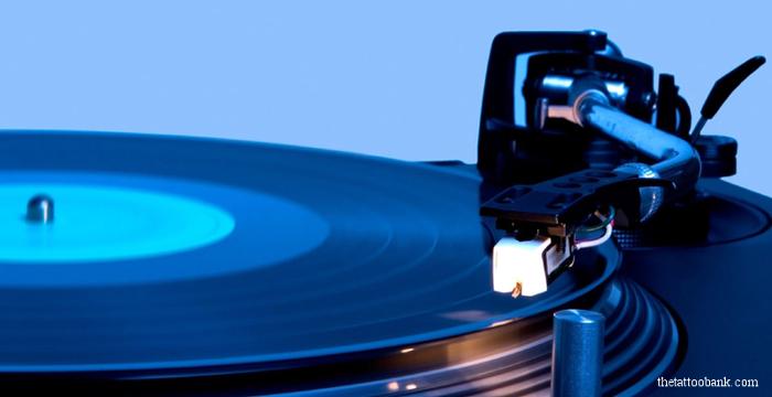 music turntable