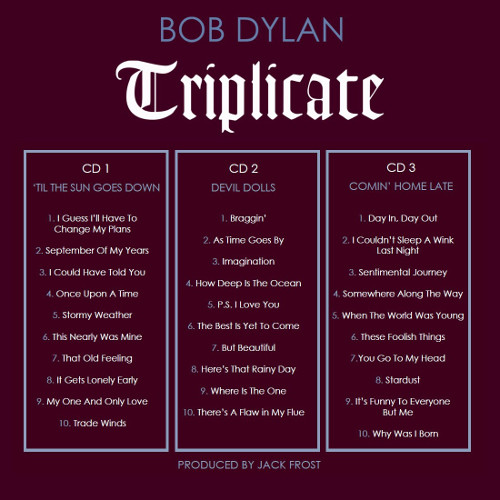 Dylan Triplicate-Tracklist