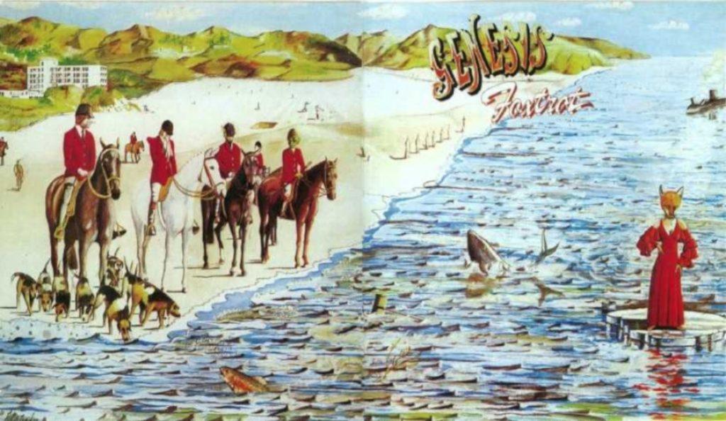 "Genesis – ""Foxtrot""<br>Listopad – 1972."