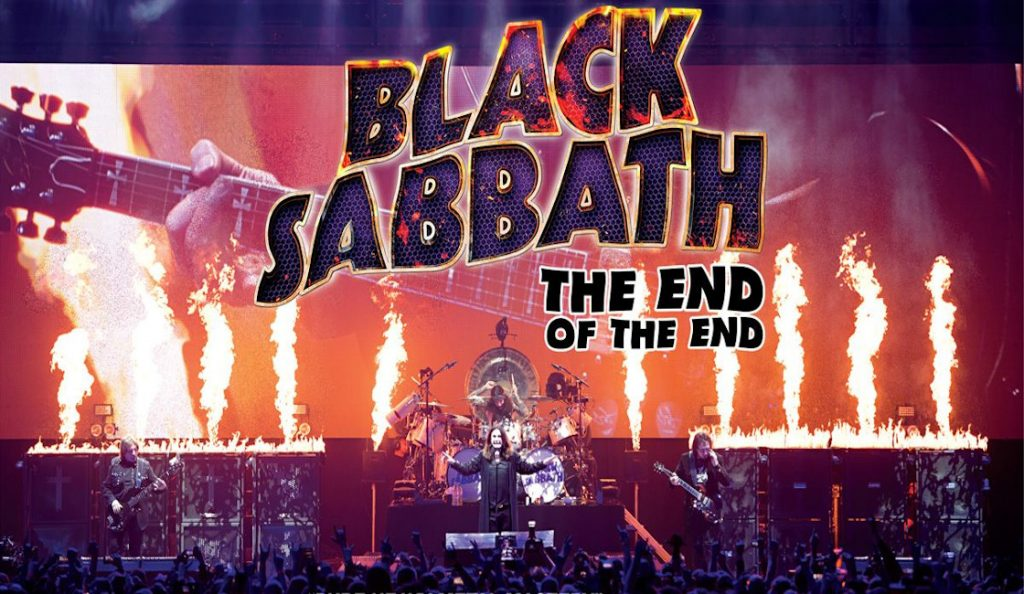 """Black Sabbath: The End of the End"" / film<br>Rujan – 2017."