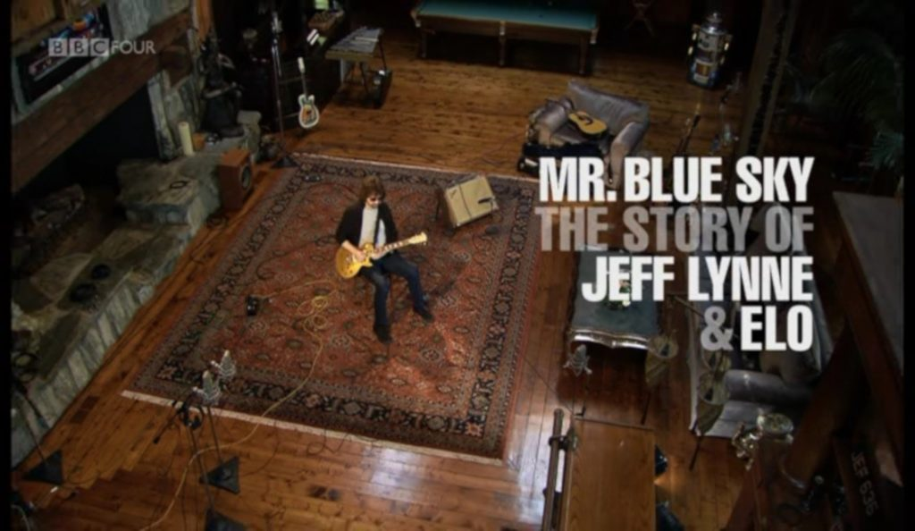 """Mr Blue Sky: The Story of Jeff Lynne and ELO""<br>Rujan – 2012."