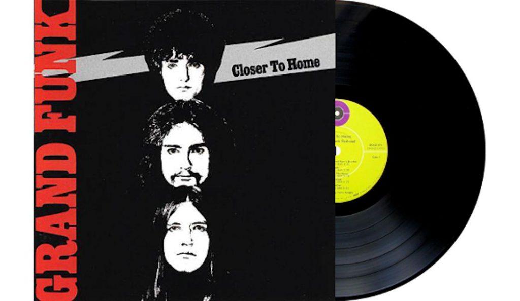 "Grand Funk Railroad – ""Closer To Home""<br>15. Srpnja – 1970."