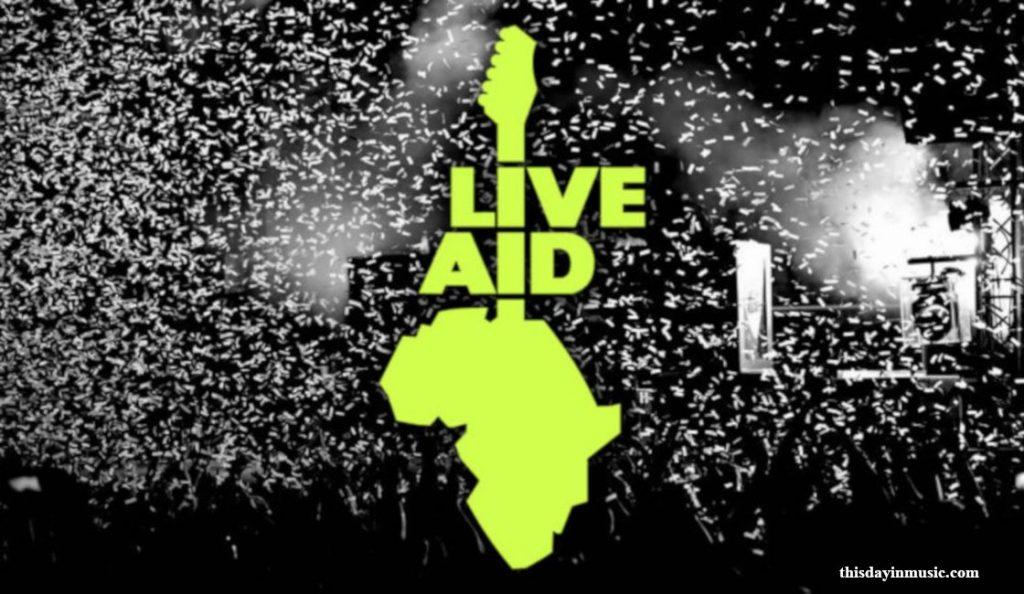 """Live Aid""<br>Srpanj – 1985."