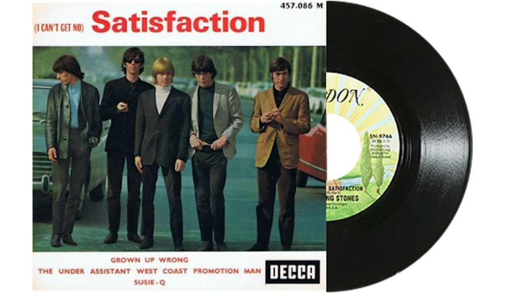 """Rolling Stones – """"I Can't Get No (Satisfaction)""""<br>Lipanj – 1965."""