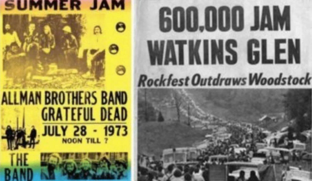 """""""Summer Jam 1973!""""<br>28. Srpnja – 1973."""