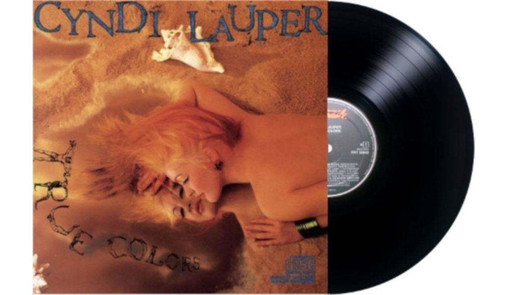 """Cyndi Lauper – """"True Colors""""<br>Rujan – 1986."""