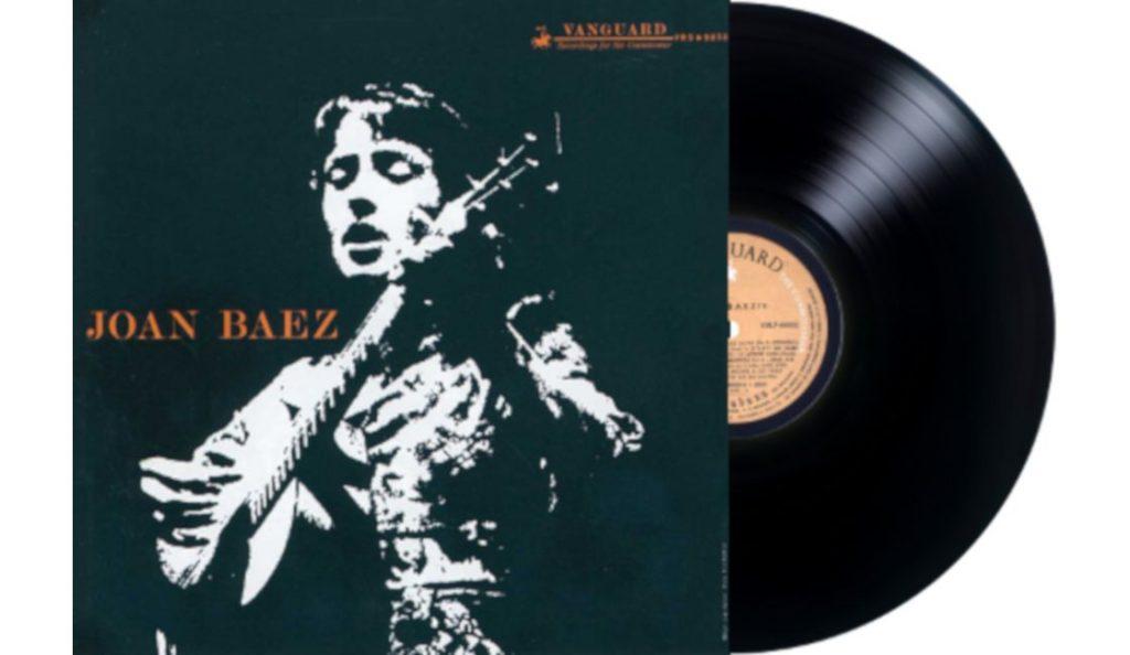 """Joan Baez – """"Joan Baez""""<br>01. Listopada – 1960."""
