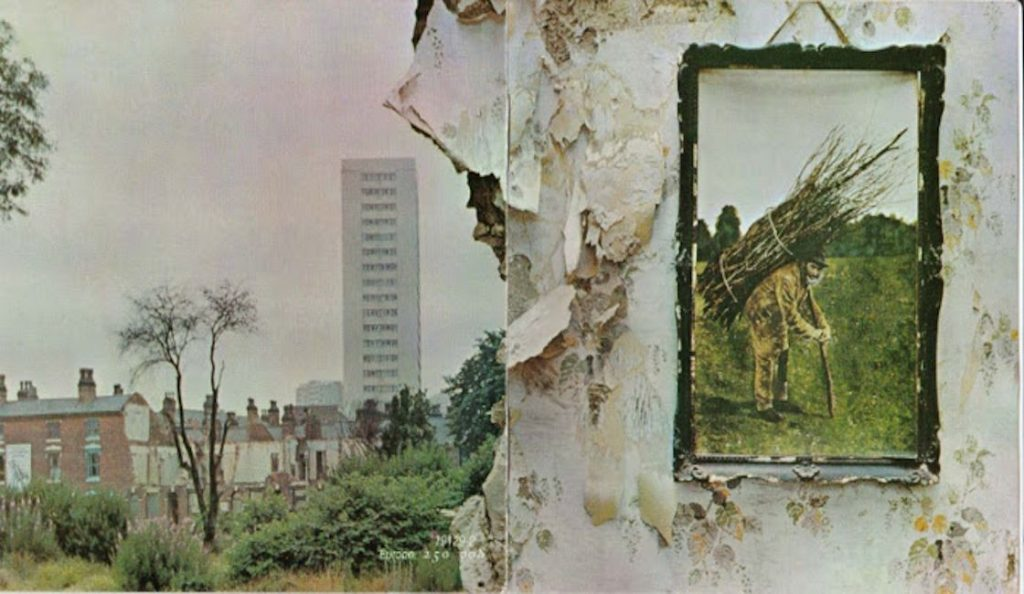 """Led Zeppelin – """"Led Zeppelin IV""""<br>Studeni – 1971."""