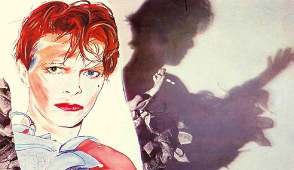 "David Bowie – ""Scary Monsters (and Super Creeps)""<br>Rujan – 1980."