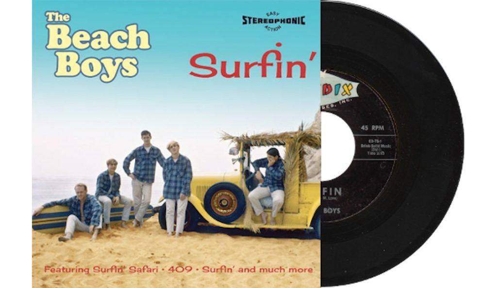 """The Beach Boys – """"Surfin'""""<br>Prosinac – 1961."""