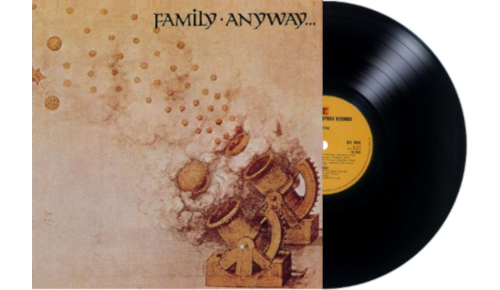 """Family – """"Anyway""""<br>Studeni – 1970."""