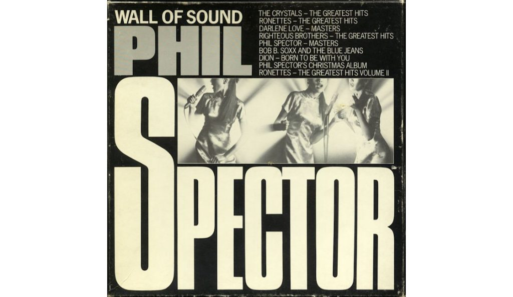 """Phil Spector / """"Wall of Sound""""<br>Studeni – 1962."""