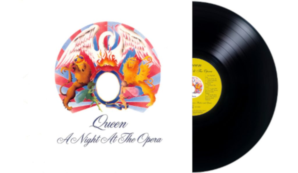 "Queen – ""A Night at the Opera""<br>Studeni – 1975."