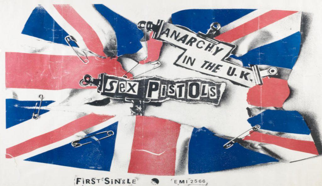 "Sex Pistols – ""Anarchy in the U.K.""<br>Prosinac – 1976."