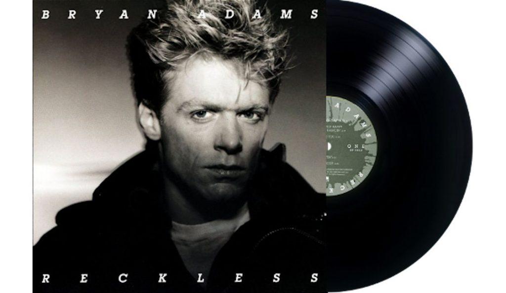 "Bryan Adams – ""Reckless"" <br>Studeni – 1984."
