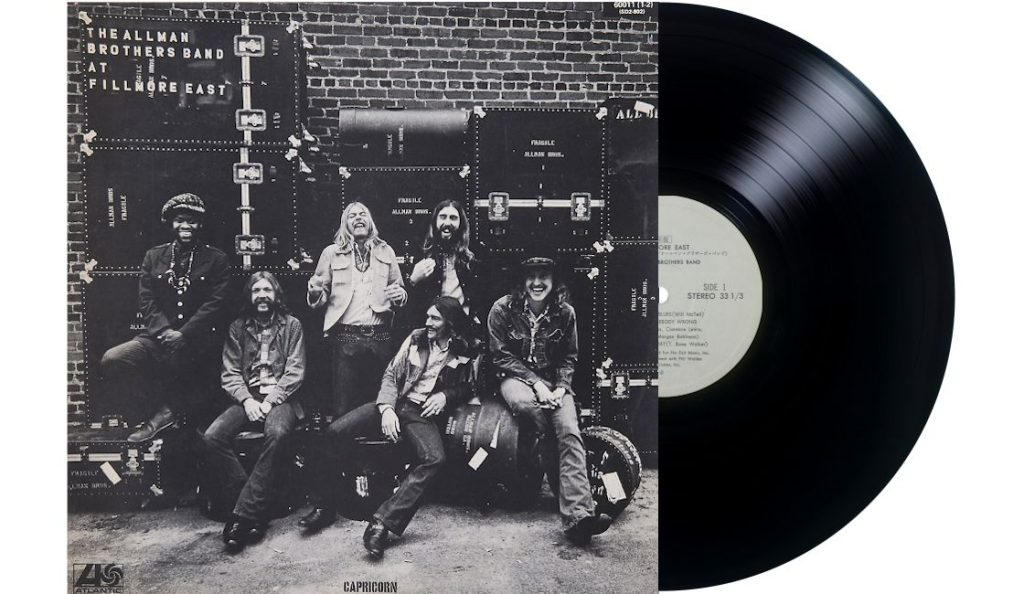 "The Allman Brothers Band – ""At Fillmore East""<br>Srpanj – 1971."