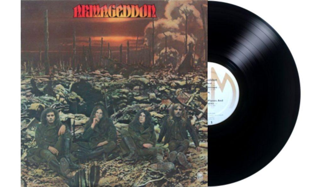 "Armageddon – ""Armageddon""<br>Svibanj – 1975."
