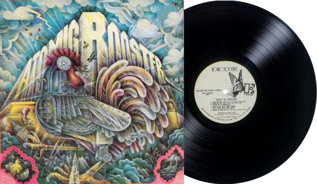 "Atomic Rooster – ""Made in England""<br>Listopad – 1972."