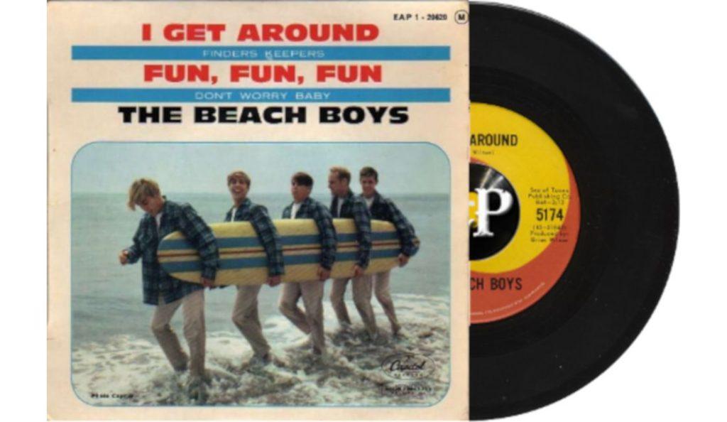 """The Beach Boys – """"I Get Around""""<br>Svibanj – 1964."""
