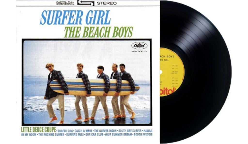 """The Beach Boys – """"Surfer Girl""""<br>16. Rujna – 1963."""
