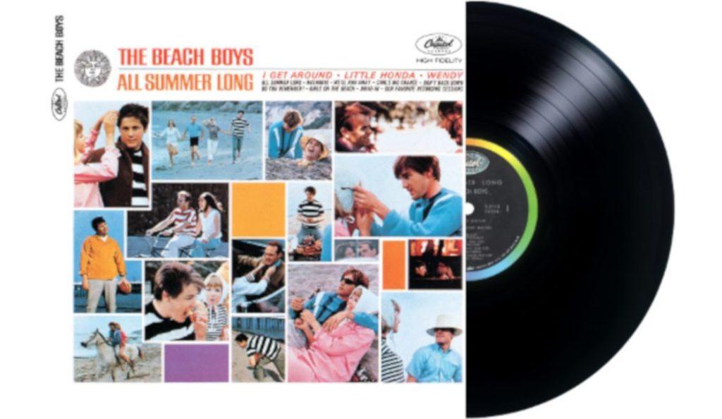 "The Beach Boys – ""All Summer Long""<br>13. Srpnja – 1964."