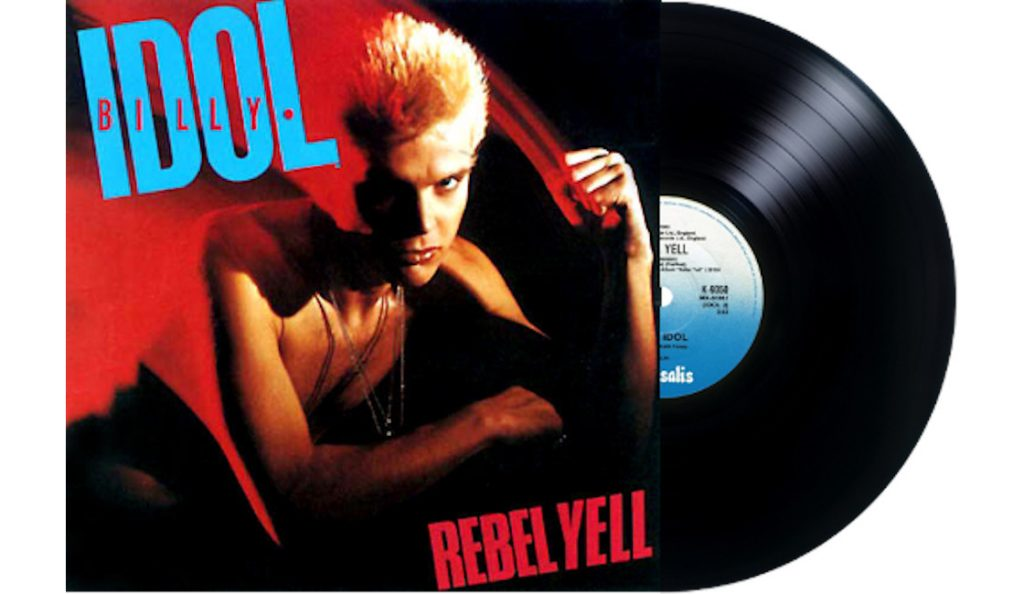 """Billy Idol – """"Rebel Yell""""<br>Prosinac – 1983."""