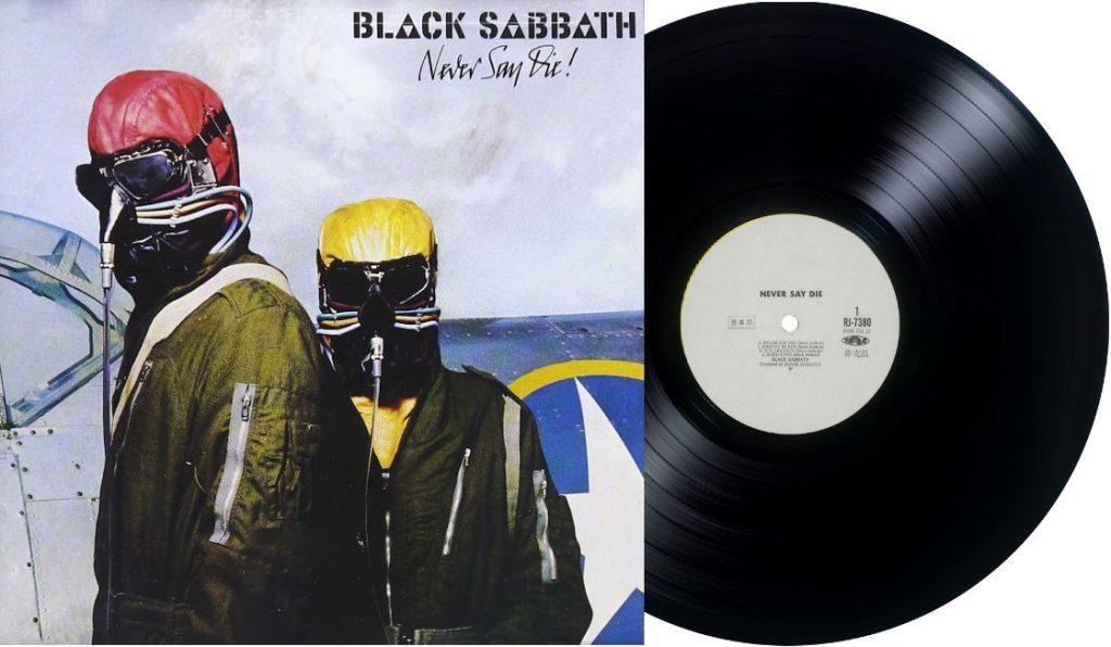 """Black Sabbath – """"Never Say Die!""""<br>28. Rujna – 1978."""