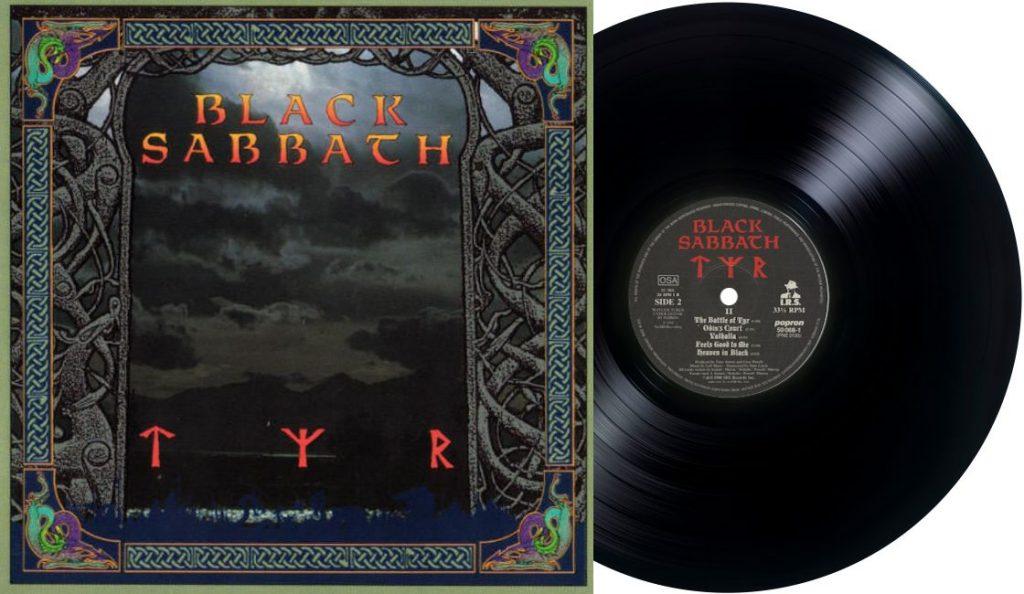 "Black Sabbath – ""Tyr""<br>Kolovoz – 1990."