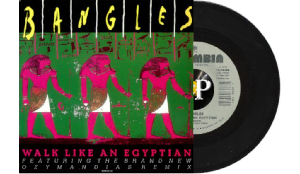 "Bangles – ""Walk Like an Egyptian""<br>Prosinac – 1986."