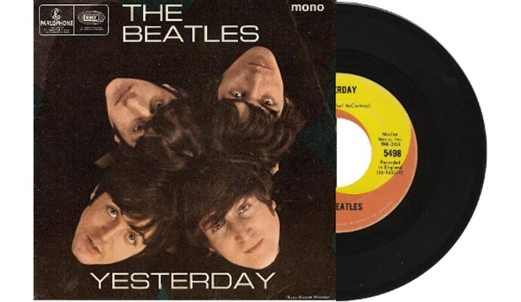 """The Beatles – """"Yesterday""""<br>13. Rujna – 1965."""