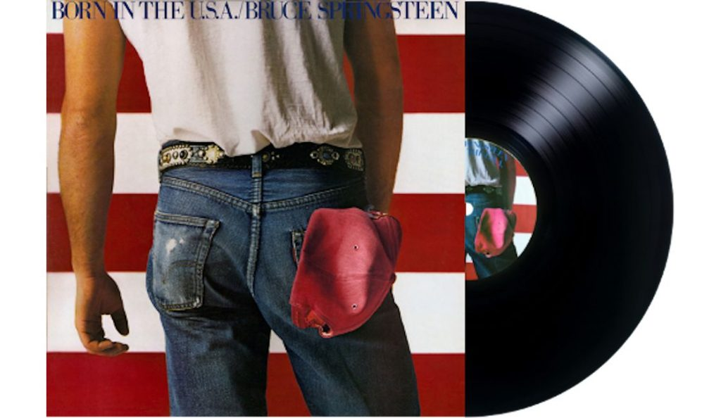"Bruce Springsteen – ""Born in the U.S.A.""<br>Lipanj – 1984."
