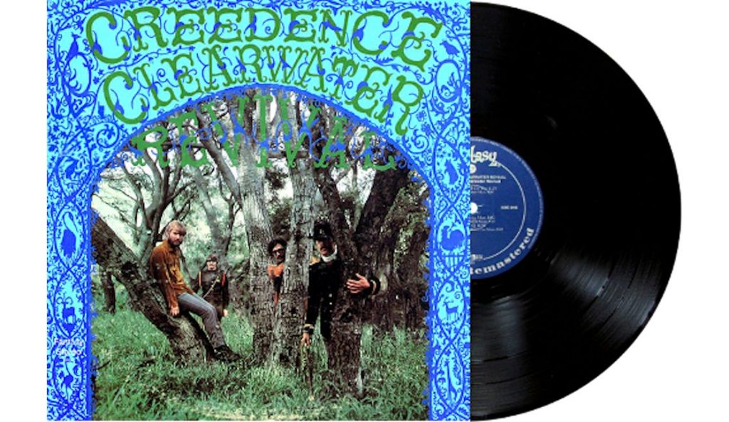 """Creedence Clearwater Revival – """"Creedence Clearwater Revival""""<br>25. Svibanj – 1968."""