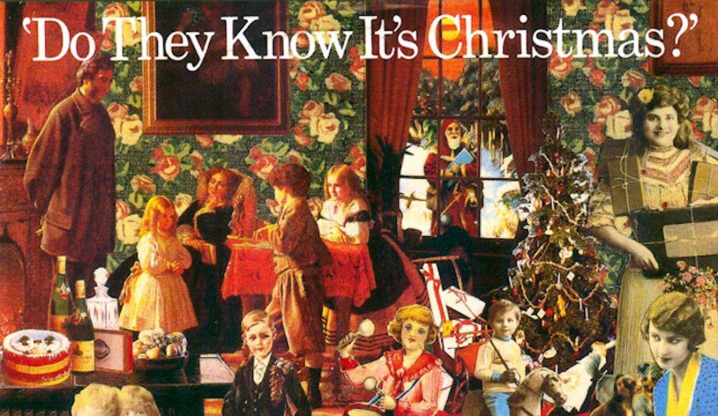 """Bob Geldof & Midge Ure – """"Do They Know It`s Christmas?""""<br>Prosinac – 1984."""