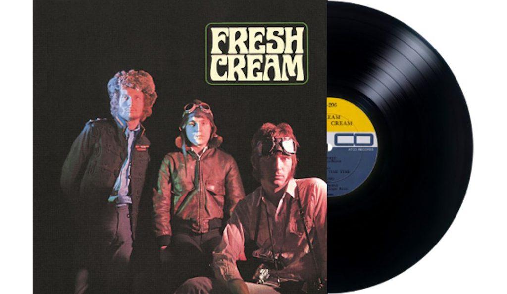 """Cream – """"Fresh Cream""""<br>Prosinac – 1966."""