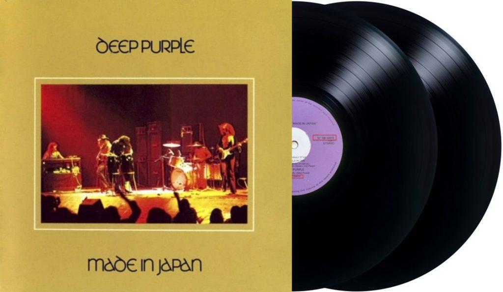 """Deep Purple – """"Made In Japan""""<br>Prosinac – 1972."""