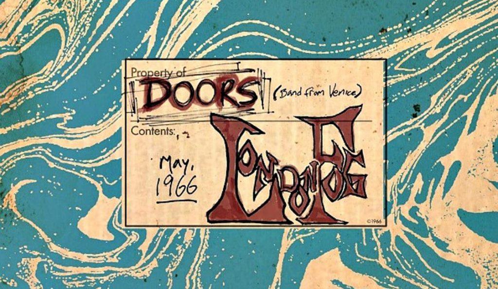 "The Doors – ""The London Fog 1966""<br>Prosinac – 2016."