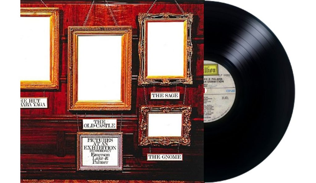 "Emerson, Lake & Palmer – ""Pictures at an Exhibition""<br>Studeni – 1971."