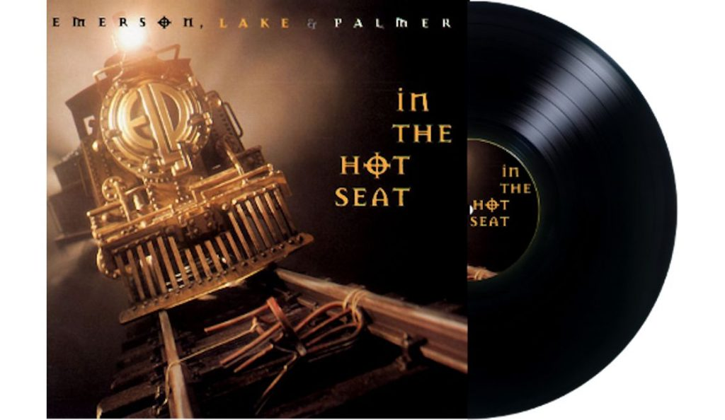 "Emerson, Lake & Palmer – ""In the Hot Seat"" <br>Rujan – 1994."