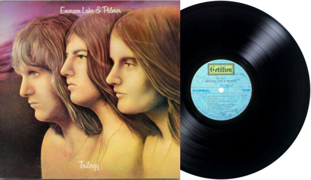"""Emerson, Lake & Palmer – """"Trilogy""""<br>06. Srpnja – 1972."""
