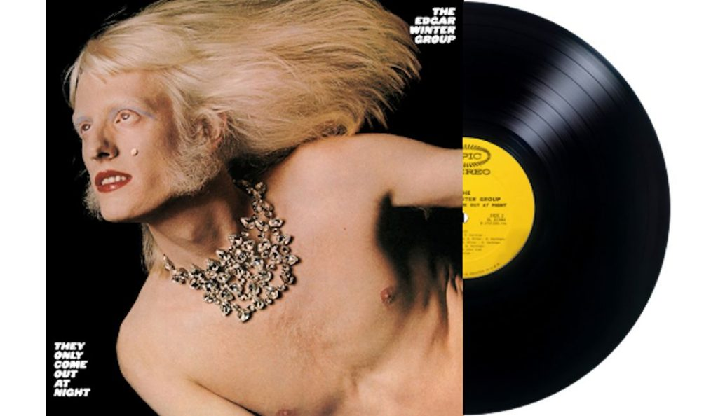 "Edgar Winter –  ""They Only Come Out At Night""<br>Studeni – 1972."