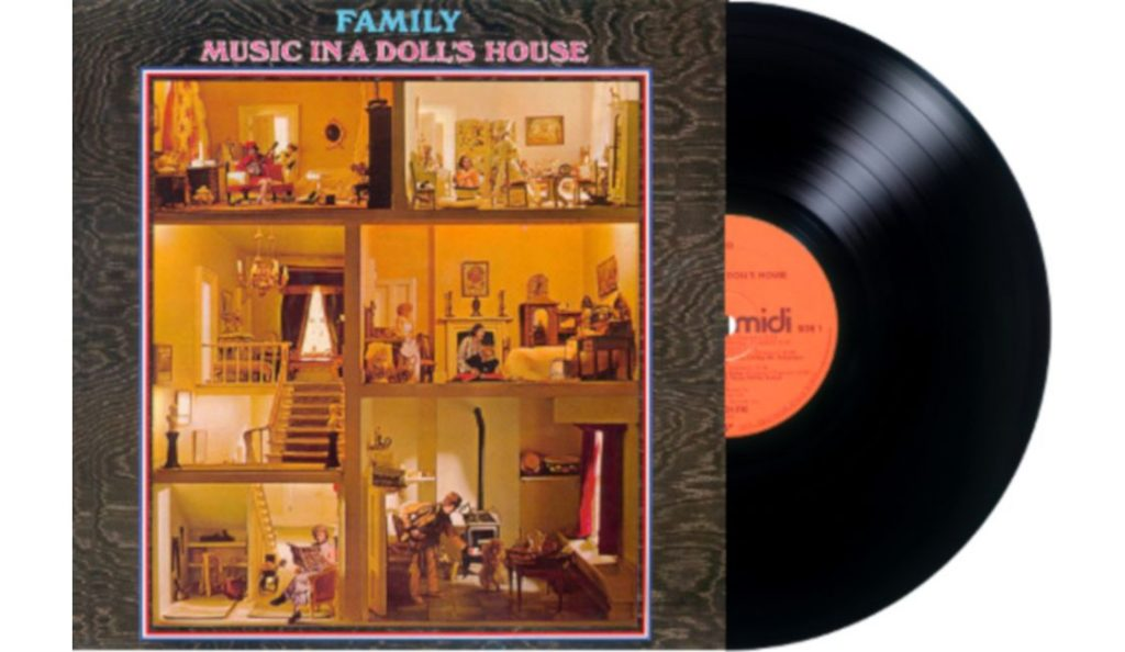 """Family – """"Music in a Doll's House""""<br>19. Srpnja – 1968."""
