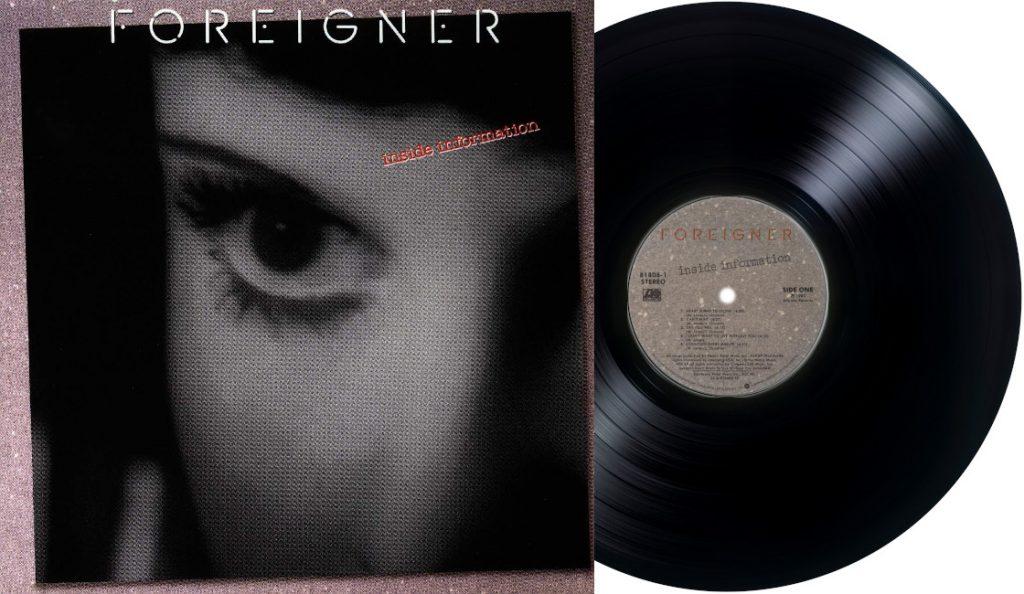"""Foreigner – """"Inside Information""""<br>Prosinac – 1987."""