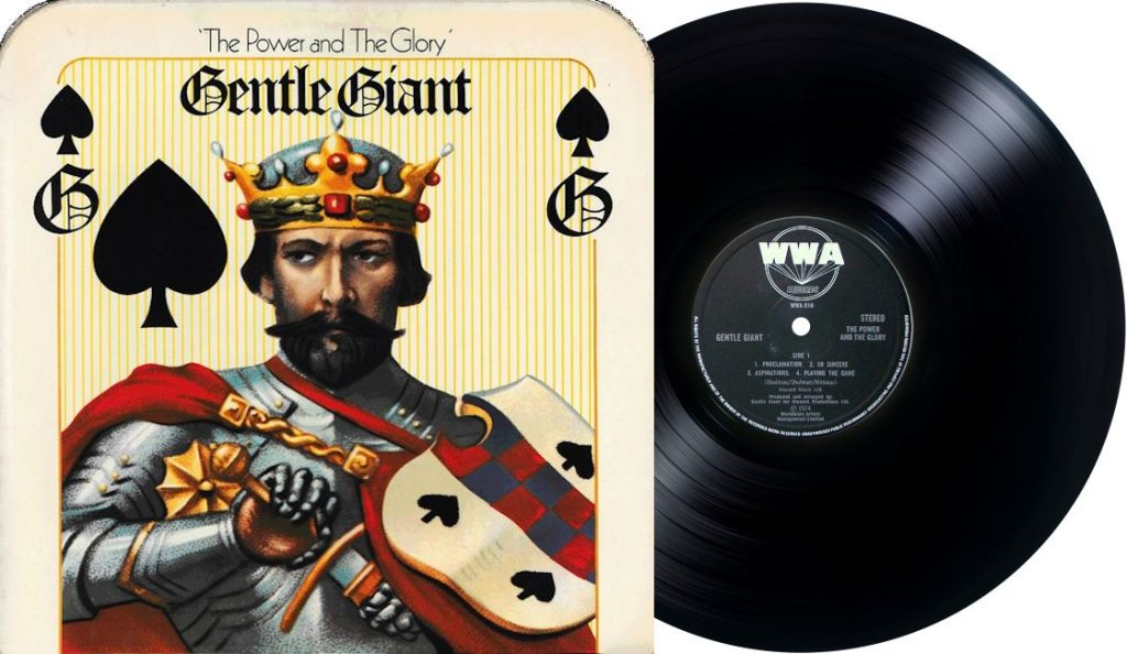 "Gentle Giant – ""Power and the Glory""<br>Rujan – 1974."