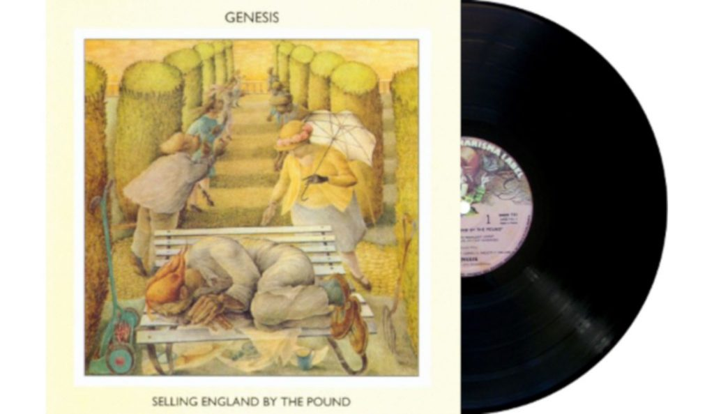 "Genesis – ""Selling England by the Pound""<br>Kolovoz – 1973."