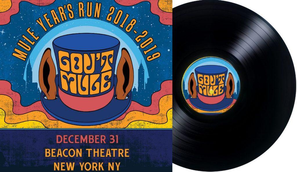 "Gov't Mule – ""Mule Year's Run 2018-2019""<br>Lipanj – 2019."