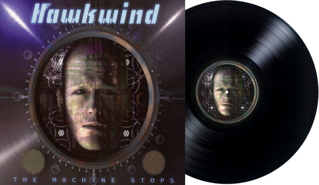 "Hawkwind – ""The Machine Stops""<br>Travanj – 2016."