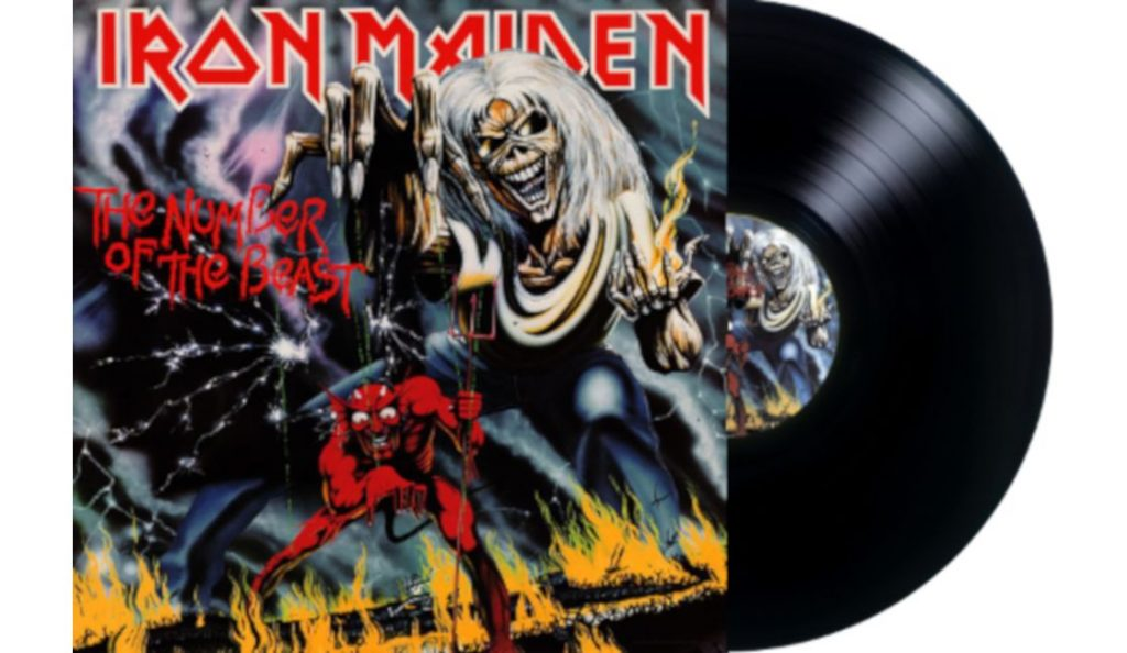 "Iron Maiden – ""The Number of the Beast""<br>Listopad – 1982."