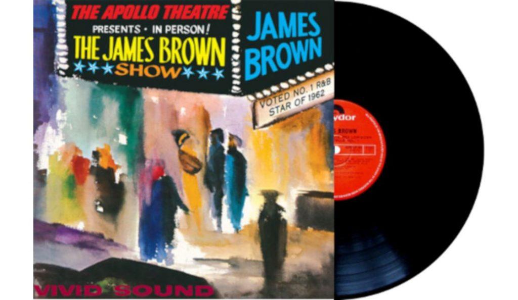 "James Brown – ""Live At The Apollo""<br>02. Kolovoza – 1962."