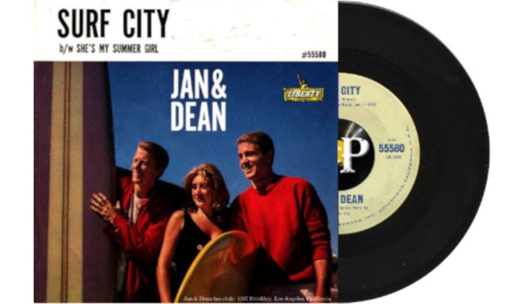 "Jan & Dean – ""Surf City""<br>Srpanj – 1963."