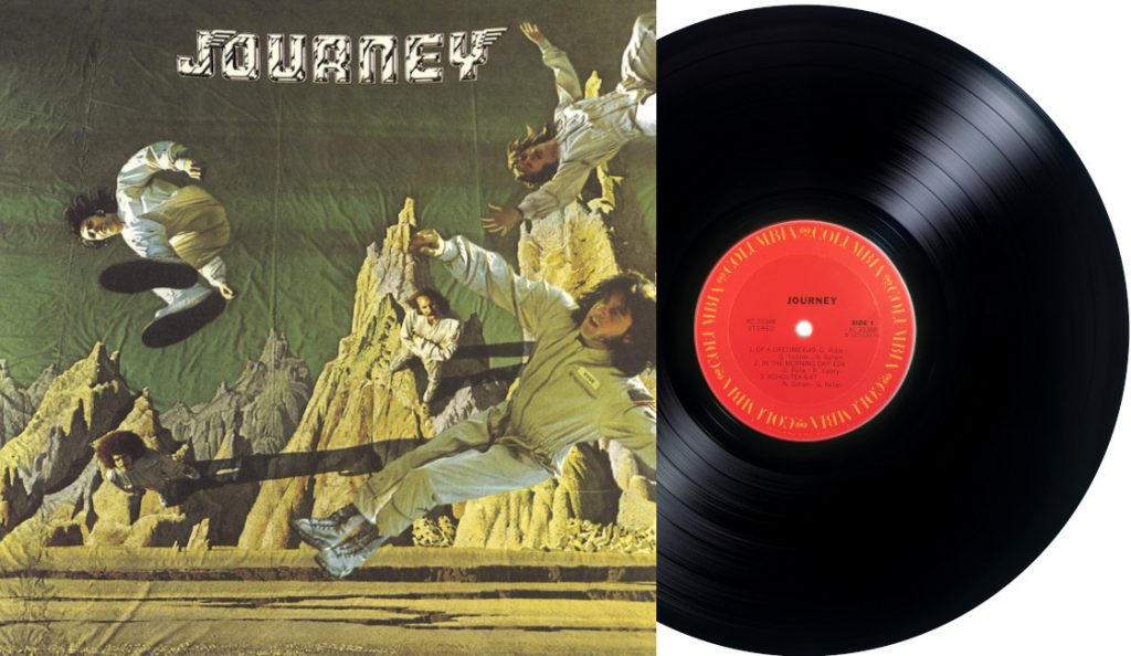 "Journey – ""Journey (Of A Lifetime)""<br>Travanj – 1975."